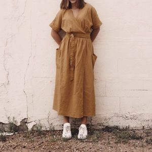 Urban outfitters dress (falls right above ankle)